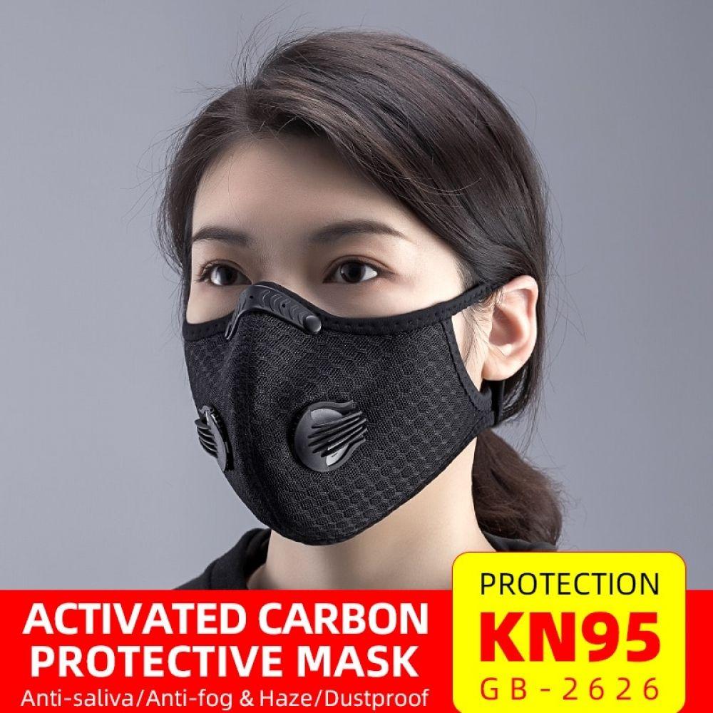 KN95 Sports Face Mask Antifog respirator Protective