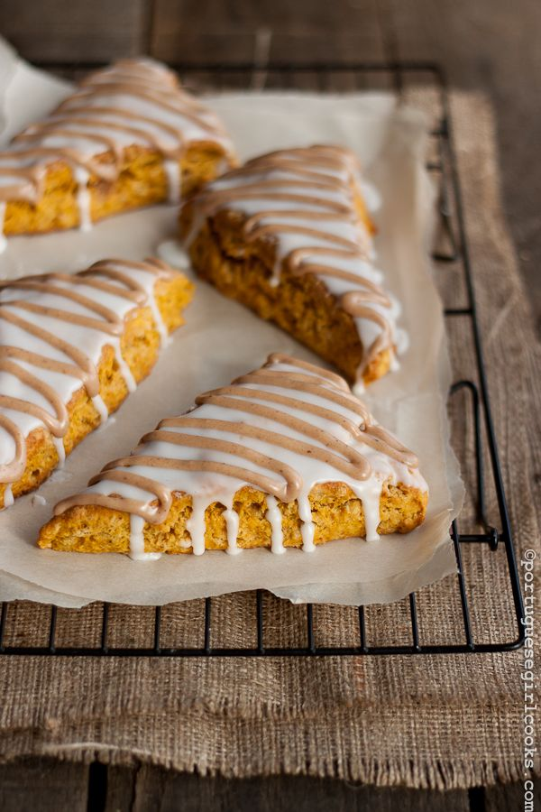 So, I know I just made you some pumpkin cake, but I have one more pumpkin recipe for you. Actually, I have a million more, but I promise to space them out a bit from now on. But these are just too ...