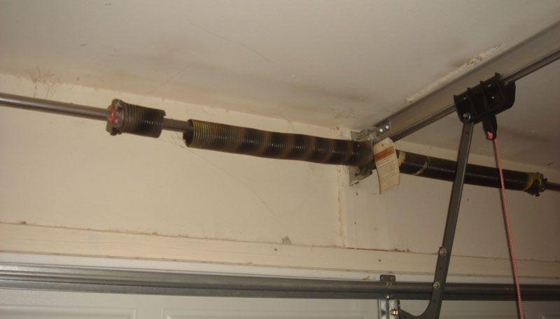 Garage Door Springs Broken Garage Door Springs Repair Replacement