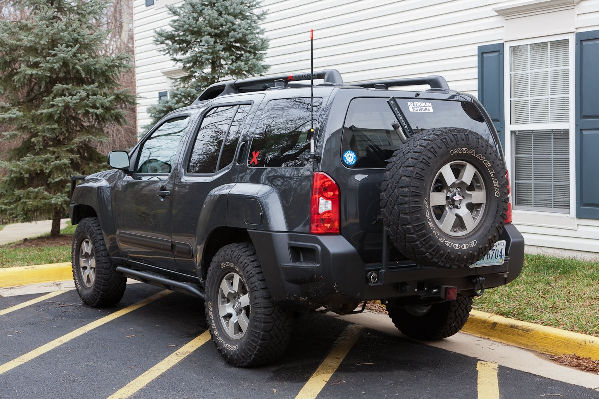 How-to: Install CB Radio, Antenna, and PA Speaker - Page 9 - Second  Generation Nissan Xterra Forums (2005+)