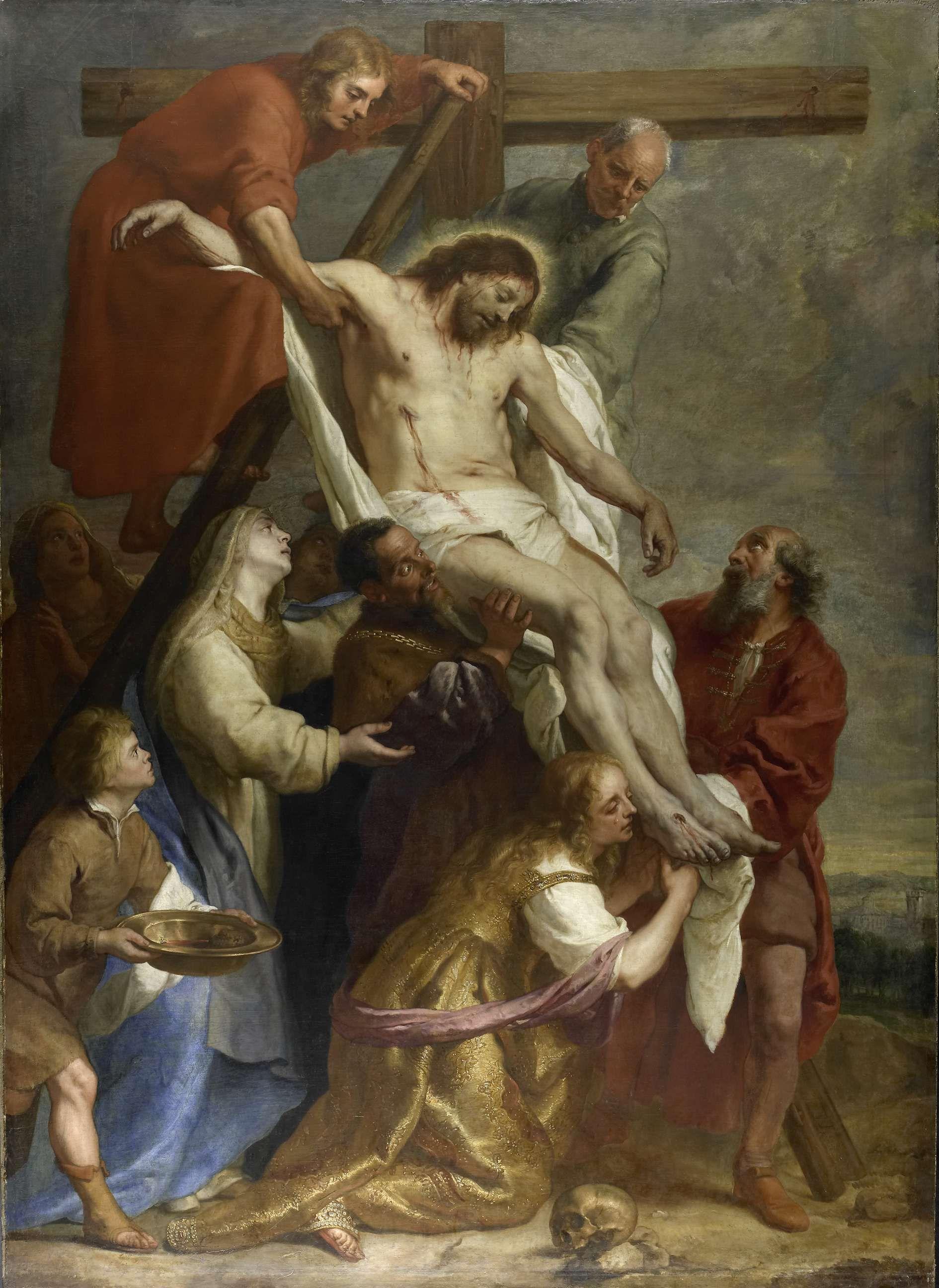 The Descent From The Cross El Descendimiento De La Cruz 1630 1669 Gaspar De Crayer The Rijksmuseum Jesus Jesus And Mary Pictures Cross Art Art