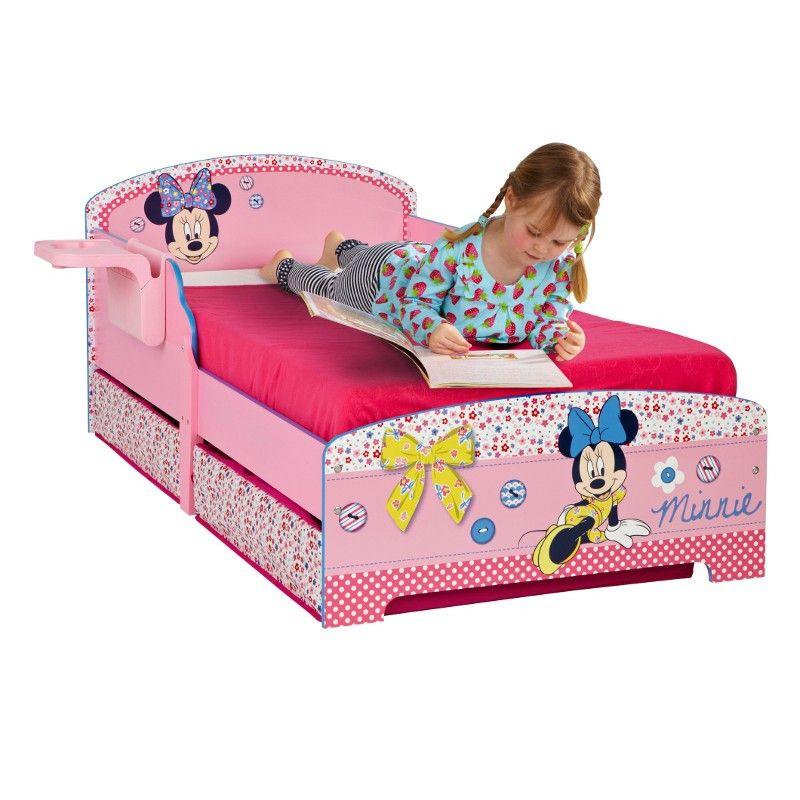 lit minnie mouse avec tiroirs de rangement httpwwwbebegavrochecomlit minnie disney avec tiroirs de rangementhtml - Lit Minnie