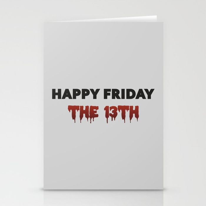 "Ge Stock Quote Glamorous The Bloody Friday ""happy Friday The 13Th"" Quote  Our Stationery ."