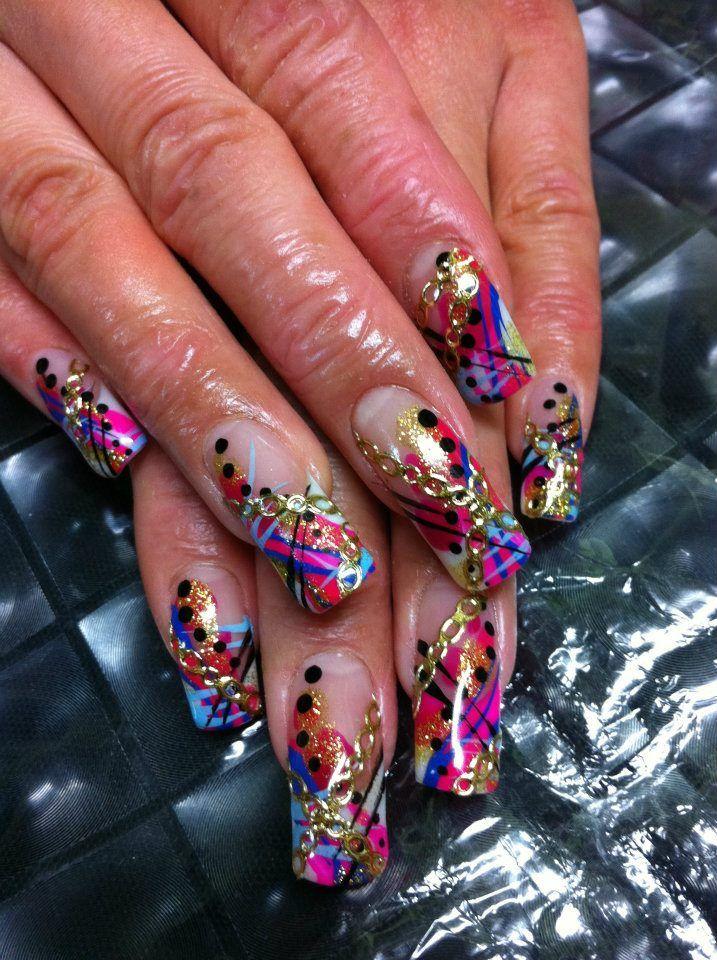 #nails | Nail Me! | Acrylic Nails, Nails, Infinity nails