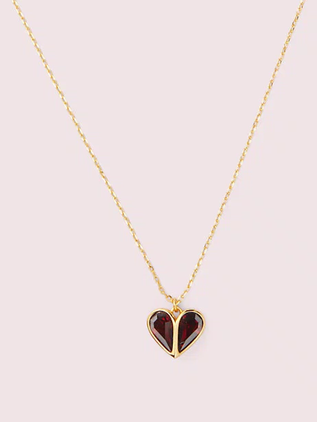 Rock Solid Stone Heart Mini Pendant Kate Spade New York In 2020