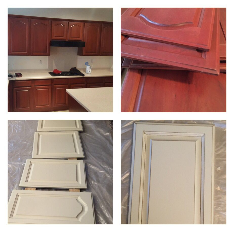 A kitchen cabinet remodel. I am using general Finishes ...