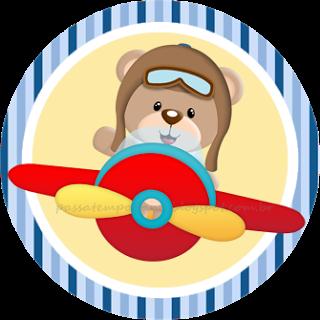 Resultado de imagem para ursinho aviador