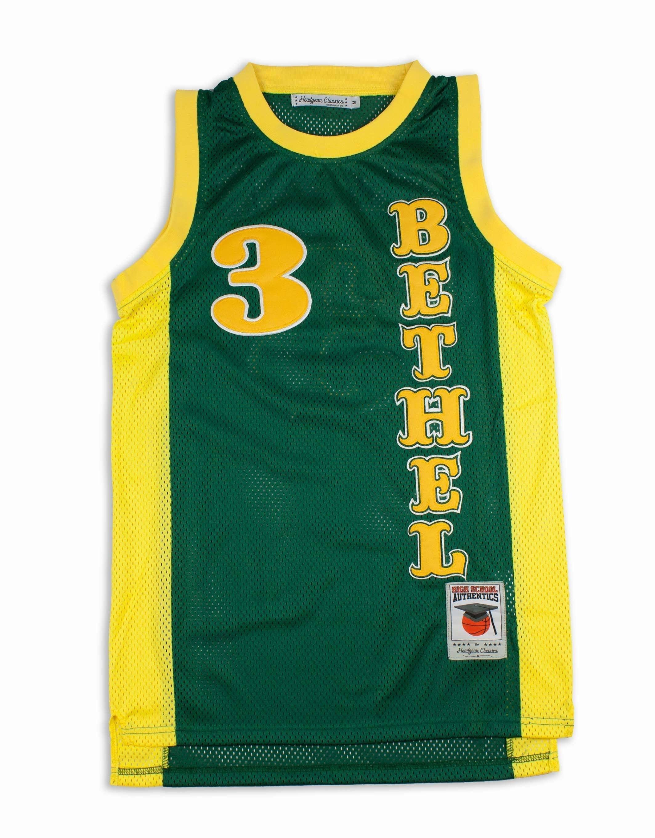de3898a6fa6c Allen Iverson Bethel High School Retro Basketball Jersey