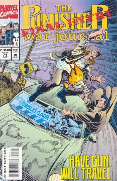 Punisher War Journal # 71 by Hugh Haynes & Scott Koblish
