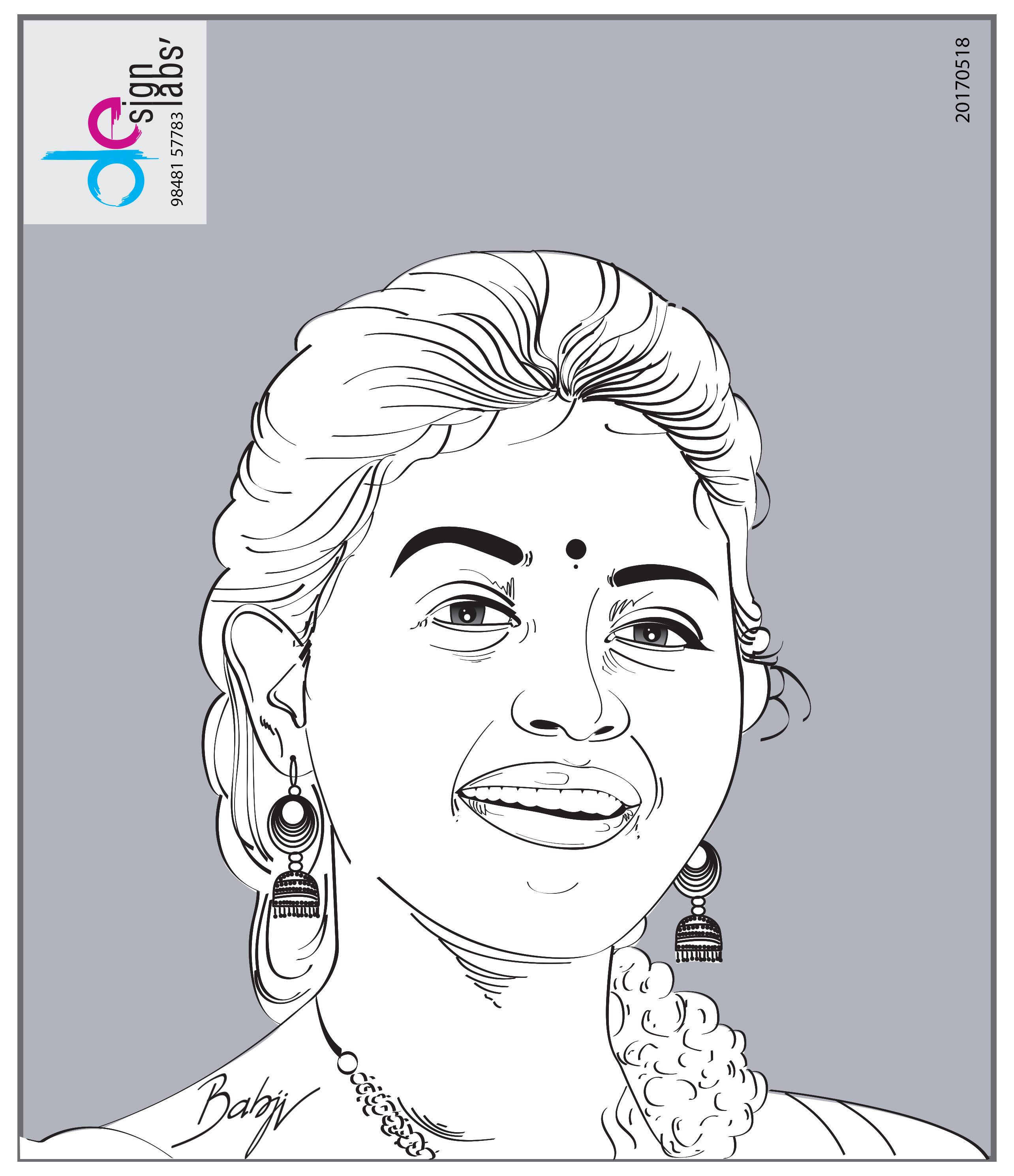 Anjali, Telugu and Tamil Actress | Portrait Drawings | Pinterest ...