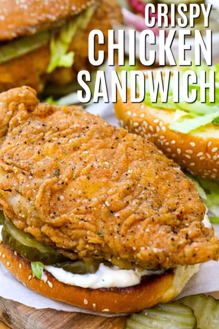 Crispy Chicken Sandwich - Spend With Pennies