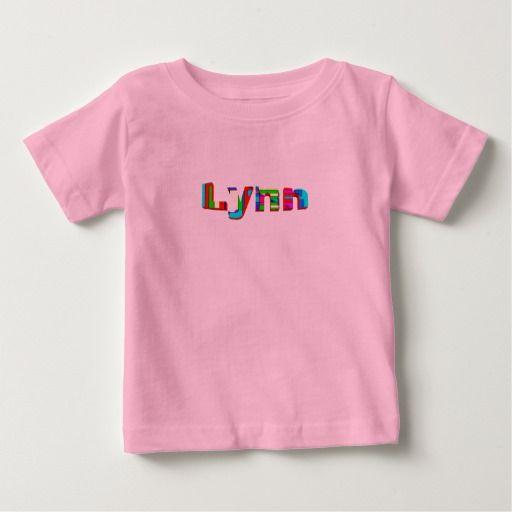 De t-shirts van Lynn
