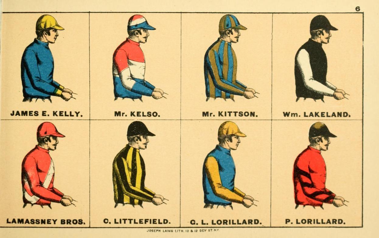 American Racing Colors American Racing Color Vintage Prints