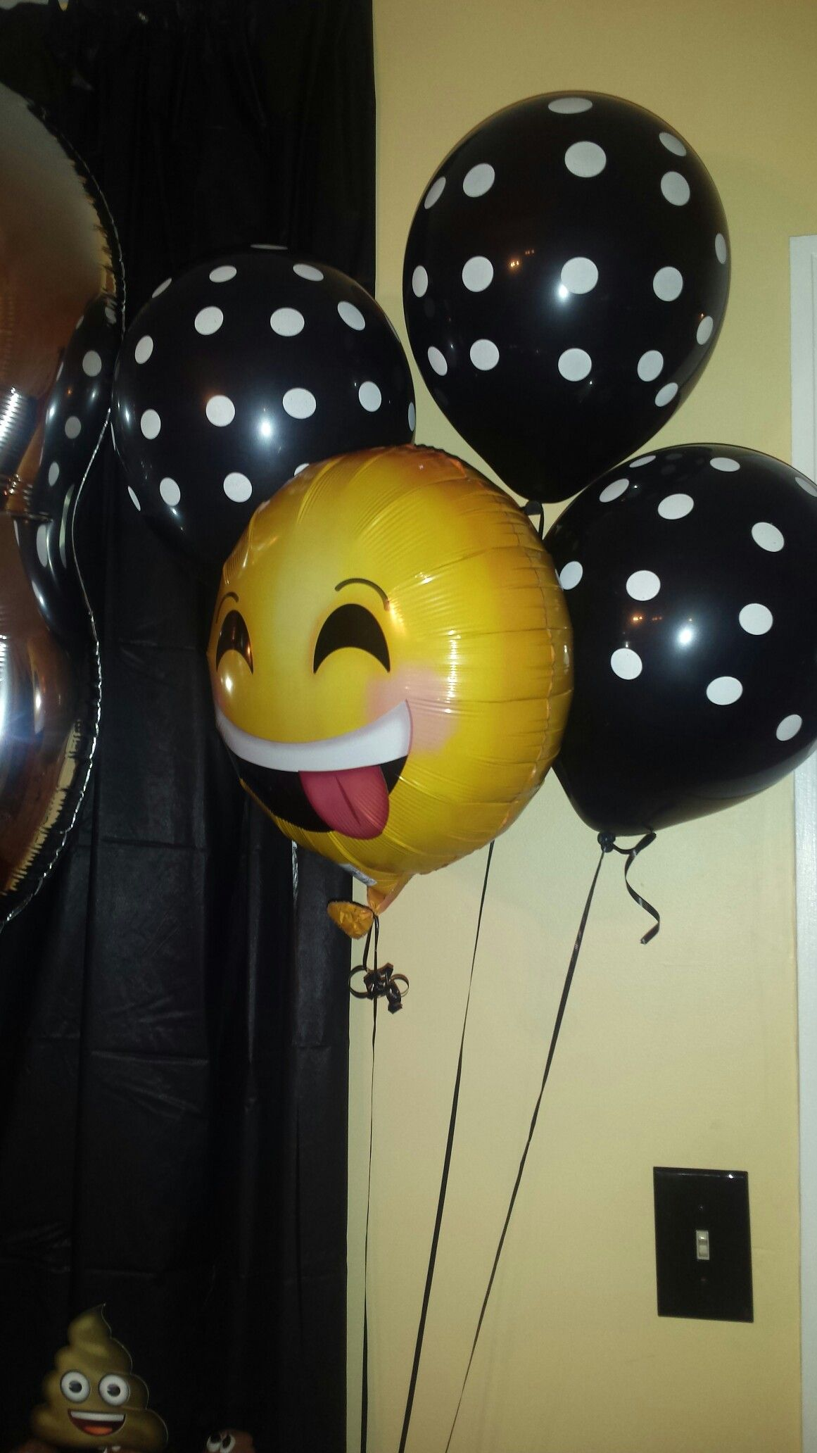 Party City Emoji Balloons 17th Birthday Ideas 10th Decorations
