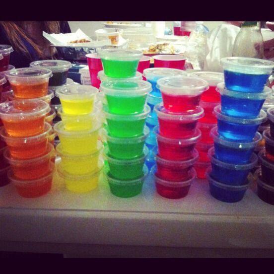 Easy Jello Shots, Jello Shots, Jello