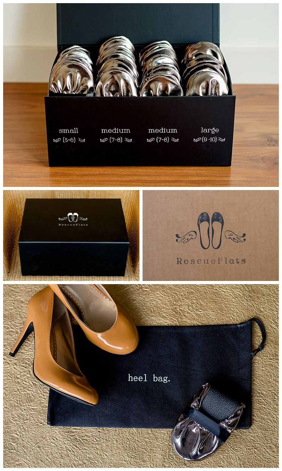 2c026da7994 Rescue Flats - Ballet Flat wedding favours for guests to dance in - Canoe  Wedding