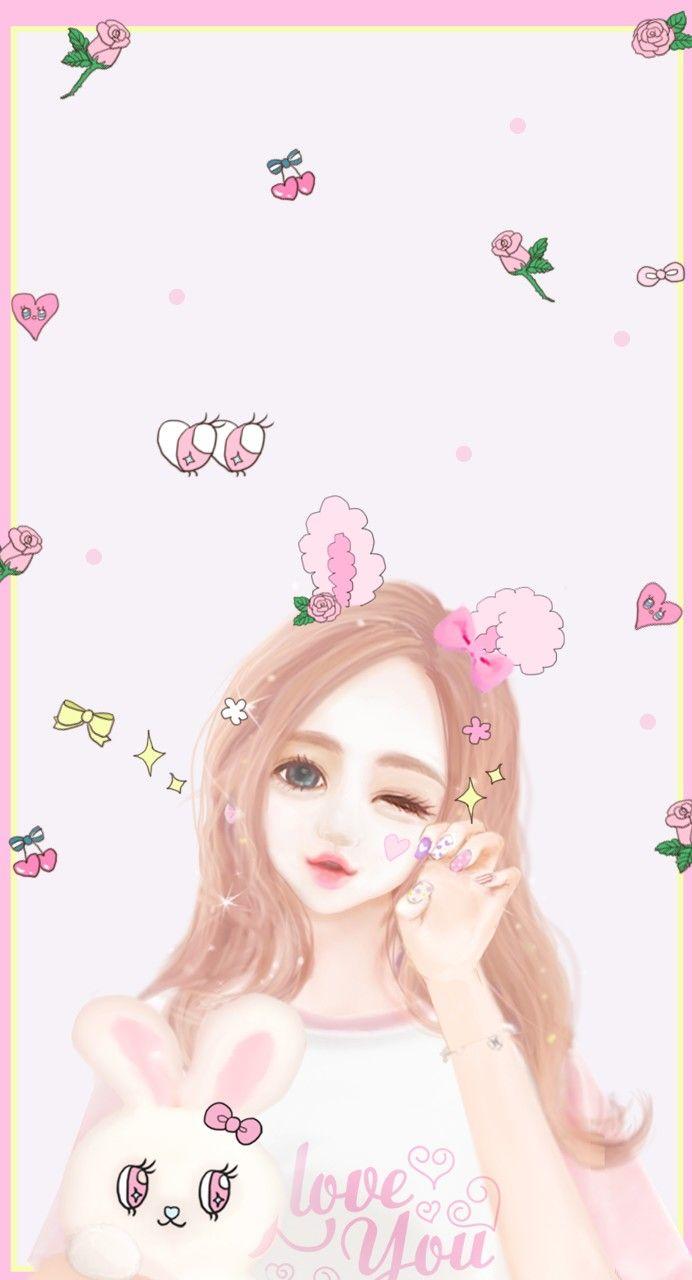 Wallpaper iphone korea - Enakei Korean Girliphone Wallpaperkawaiiwe