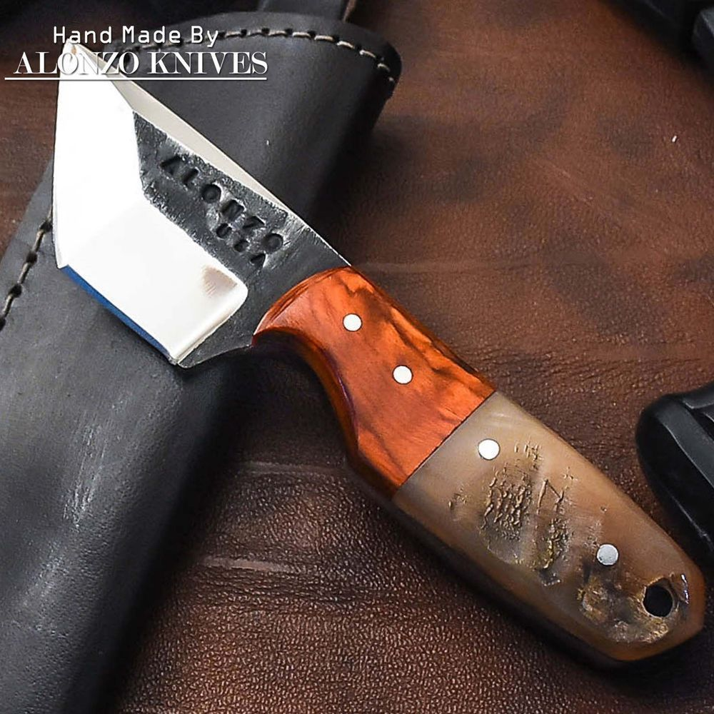 Alonzo Knives Usa Custom Handmade Tactical Hunting 1095 Knife Ram Horn 1969 Alonzoknives Tacticalknife Survivalknife Knife Survival Knife Ram Horns
