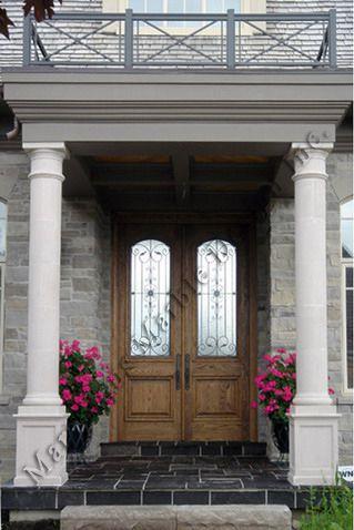 Indiana Limestone And Marble Exterior Columns California New York Pillar Design House Front Design House Pillars