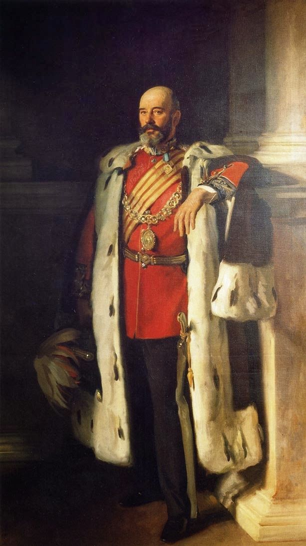 Portrait of Sir David Richmond, 1900 by John Singer Sargent (American 1856-1925)