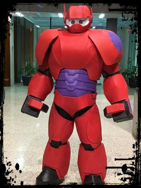 How To Make A Big Hero 6 Baymax Costume Big Hero 6 Costume Big Hero 6