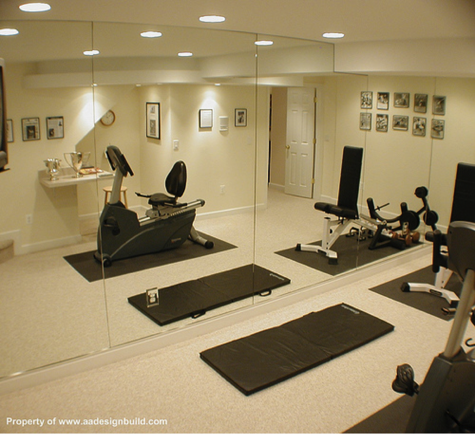 Home Gym mirror idea Trying to