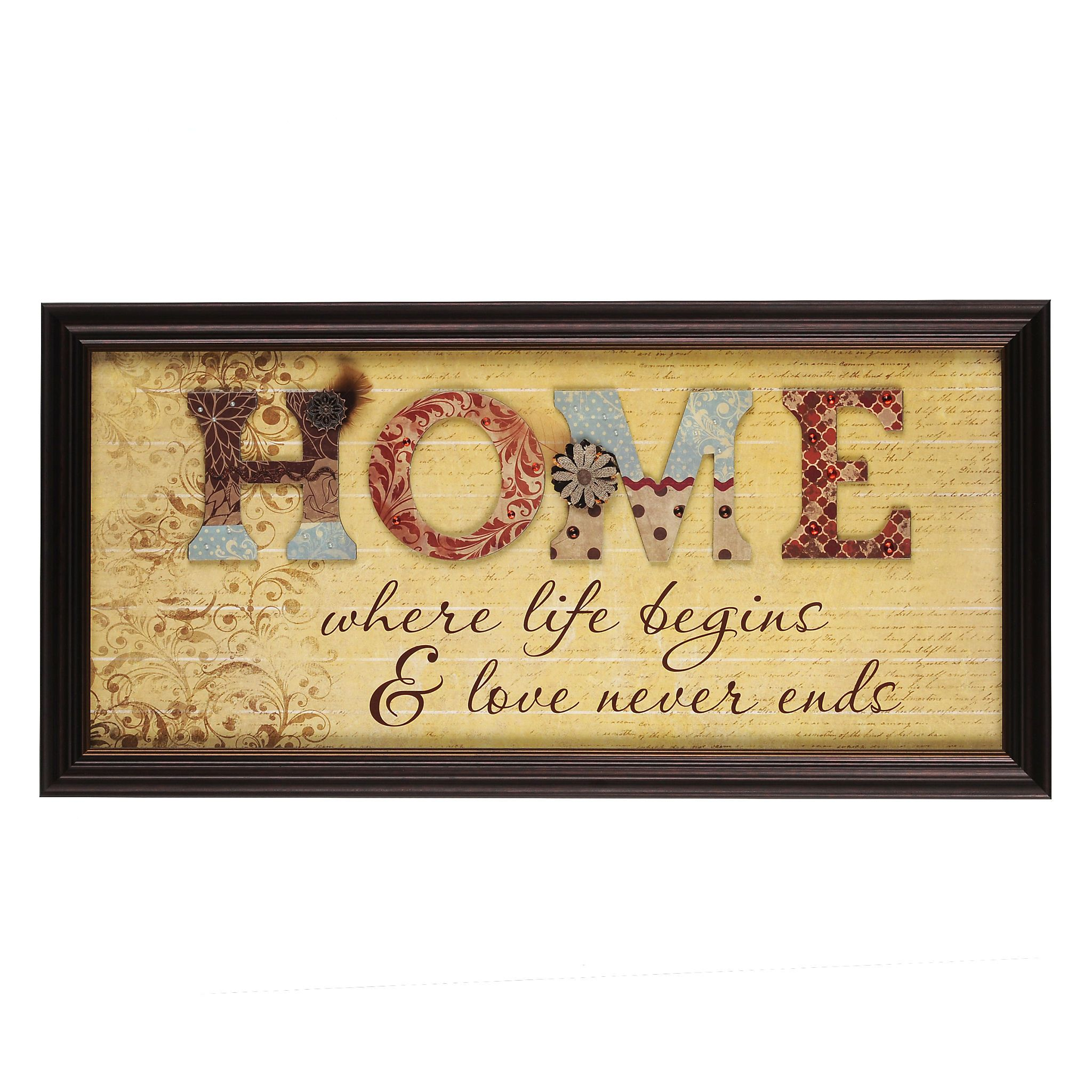 Home Scrapbook Framed Art | Scrapbook frames, Scrapbook and Art walls