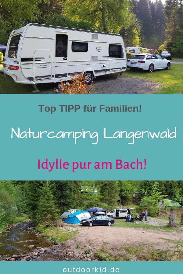 Naturcamping Langenwald: Camping am Bach mit Schwarzwaldidylle pur!