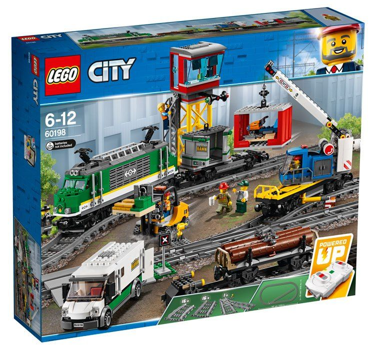 First Pictures Of The New Lego City Trains With New Power Functions Elements News Lego City Lego City Train Lego City Cargo Train