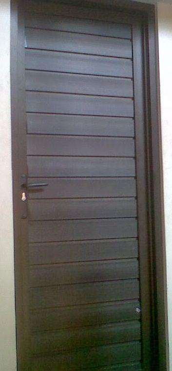 Pintu Aluminium Kamar Mandi Pintu Minimalis Desain