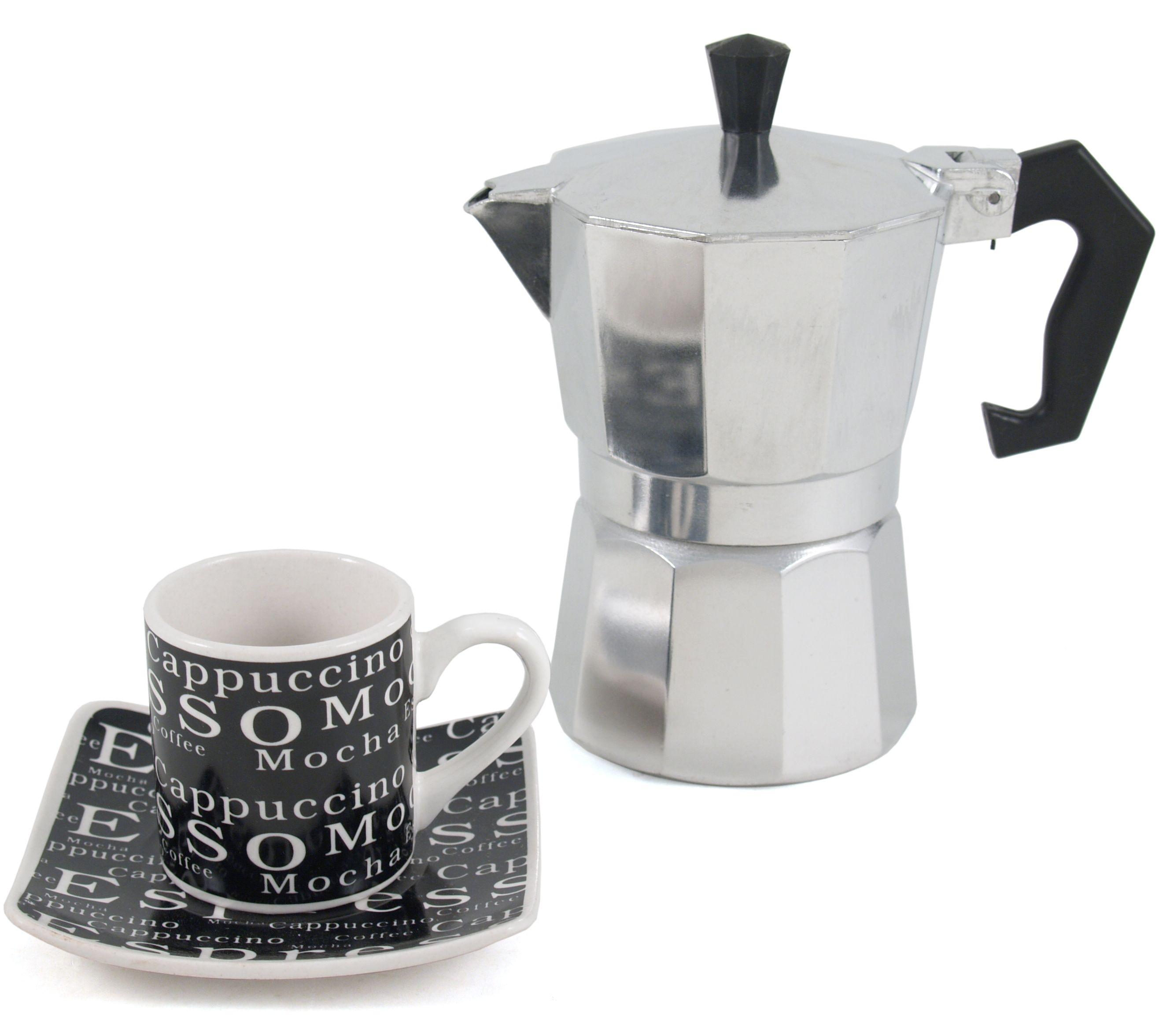 Primula Espresso Maker Set With Demitasse Cups 9 Piece Set Espresso Maker Demitasse Cups Coffee Works