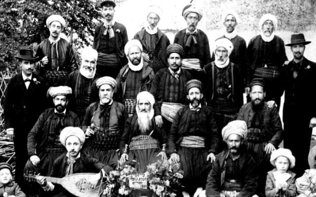 Des tailleurs juifs algériens (Crédit Autorisation de
