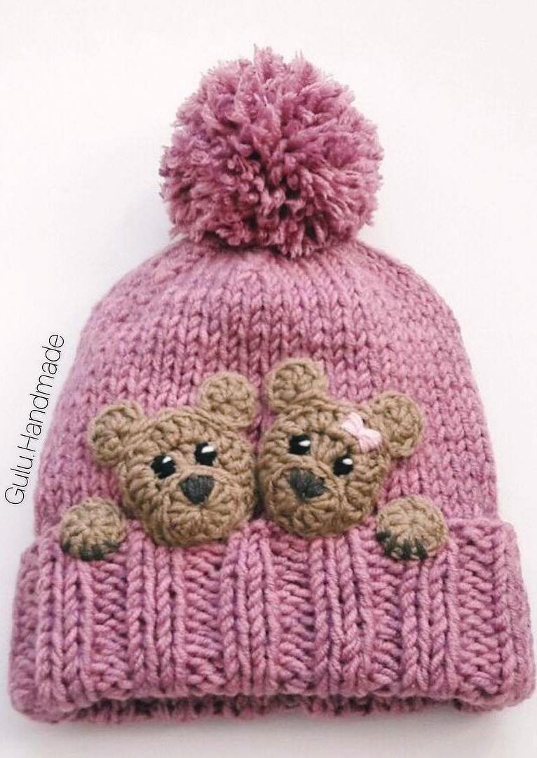 48 Awesome and Stylish Crochet Hat Patterns For New 2019 Images and Ideas - Page 44 of 48 #crochetbearpatterns