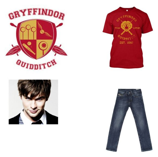 """James Granger Quidditch Practice Outfit"" by slytherin-princess-101 ❤ liked on Polyvore featuring Diesel, women's clothing, women, female, woman, misses and juniors"