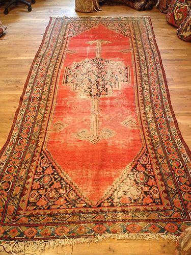 Threadbare Persian Rug