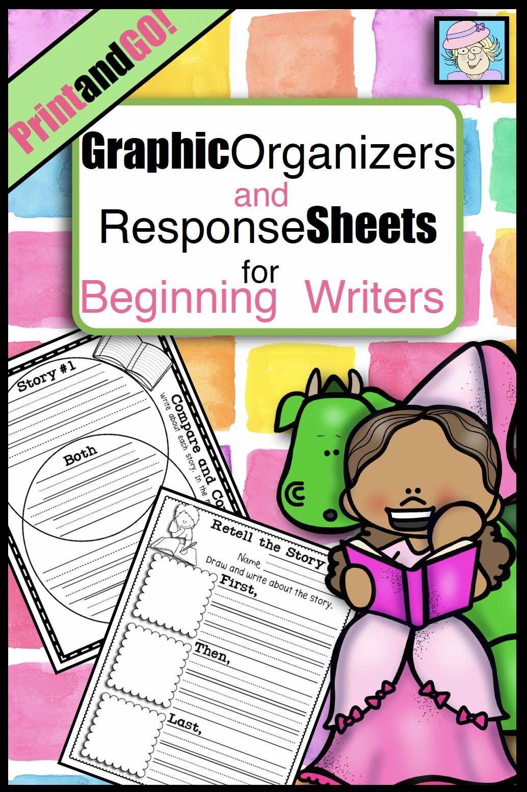 Reading Graphic Organizers Kindergarten 1st 2nd Grade