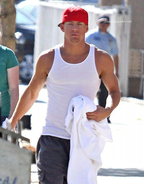 71372718add49 Channing in his Wife Beater