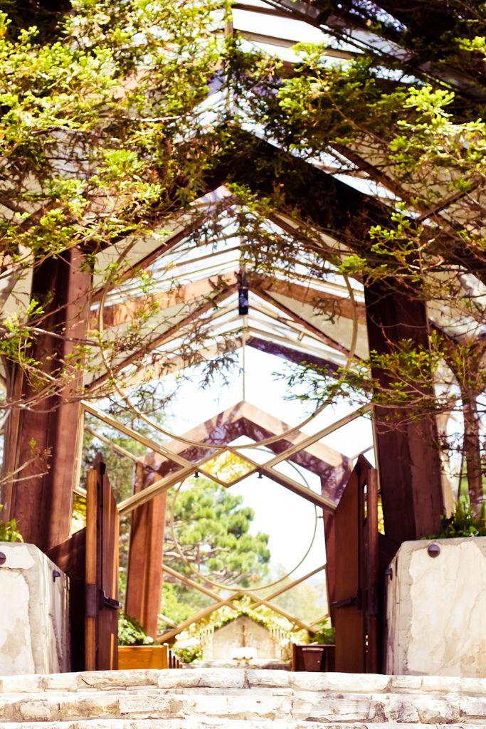 Wayfarers Chapel - Lloyd Wright, architect - Rancho Palos Verdes, CA