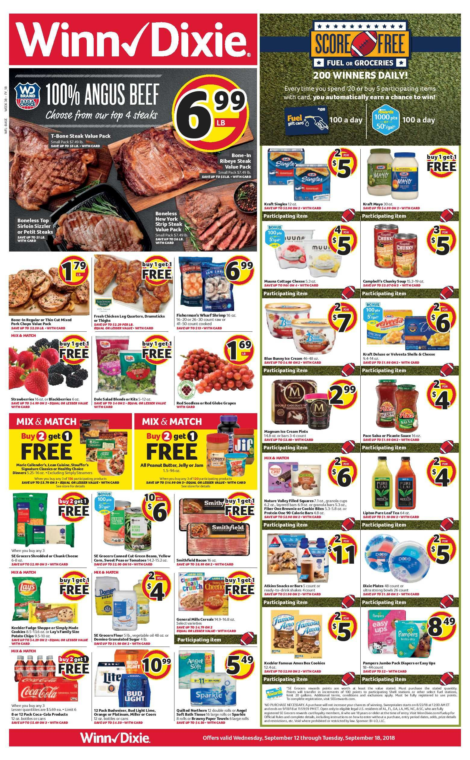 Winn Dixie Weekly Ad Flyer Valid From 03 04 20 03 10 20 Weeklyad123 Com Weekly Ad Circular Grocery Stores Grocery Winn Dixie Weekly Ad Weekly Ads