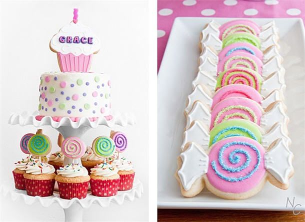 real parties sweet shop candyland birthdays and cake