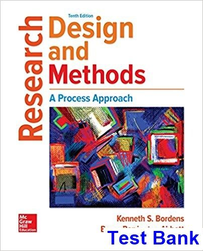 Research Design and Methods A Process Approach 10th Edition