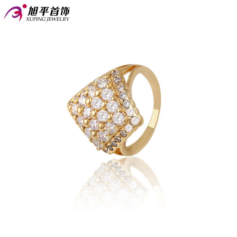 Xuping Luxury Ring Popular Design Charm Style Ring for Girl Women ...