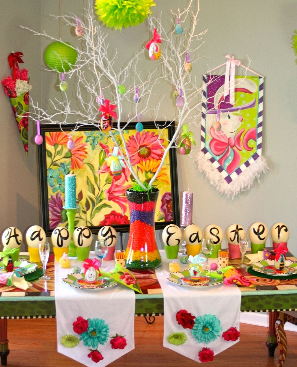 Lisa Frost and Show Me Decorating DIY for Easter Easter ideas