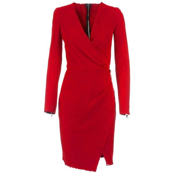 6ab117d9e10f00 BALMAIN Leather dress ( 2