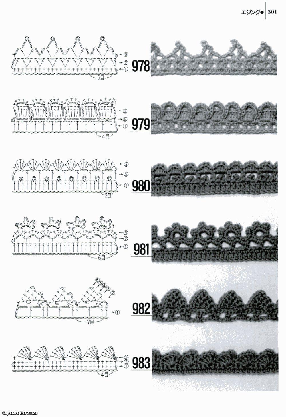Crochet Edge - Chart