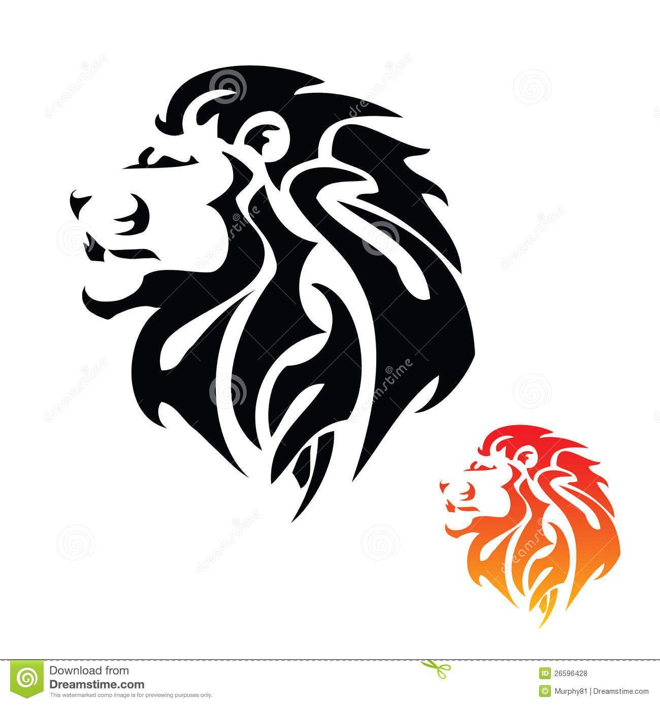 Lion Head Tribal Tattoo Tribal Lion Tattoo Tribal Lion Lion Head Tattoos
