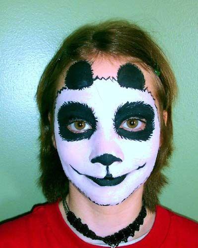 Panda Makeup for Boys! | Cute Makeup | Pinterest | Panda makeup ...