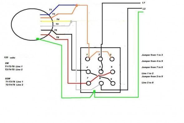 Single Phase Marathon Motor Wiring Diagram Di 2020