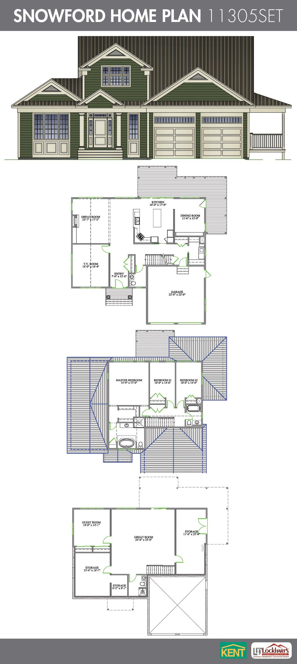 Snowford Home Plan House Plans Dream House Plans Kent Building