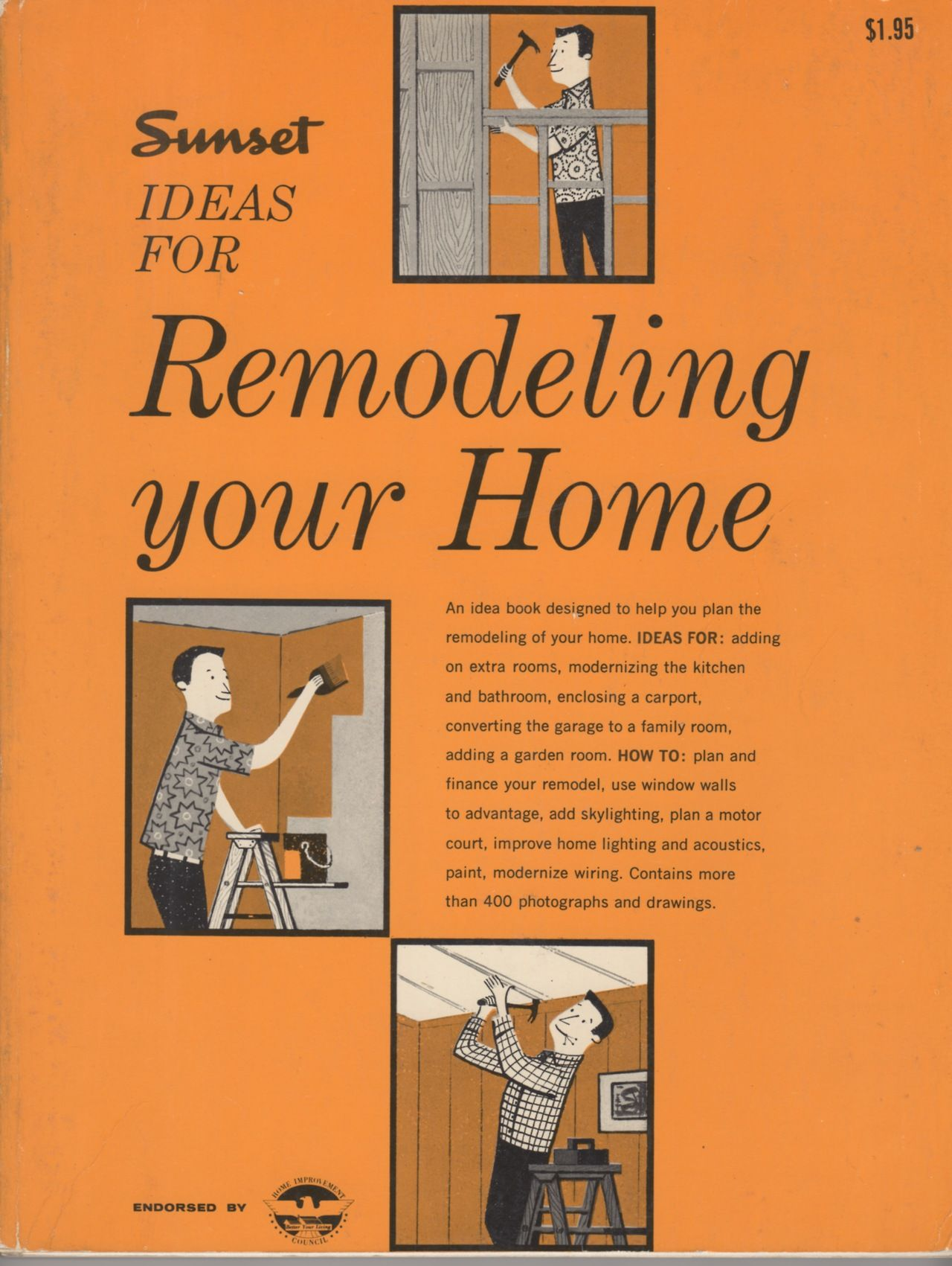 Sunset Ideas For Remodeling Your Home A Sunset Book Lane 1958 Books Remodel Book Design